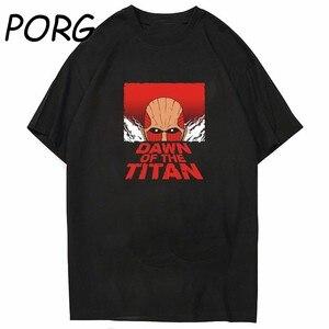 2021 Hot Japan Anime Summer Attack on Titan T Shirt Men Streetwear Unisex Tops Graphic Tees Men and Women Harajuku Tshirt Male