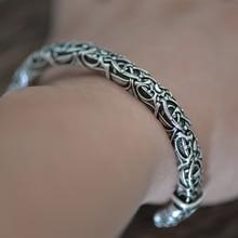 LANGHONG 1 stücke Raven Armband Viking Armreif Für Männer und Frauen Talisman Schmuck