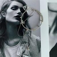 niche designer ins internet celebrity flower personality combination set necklace collar bracelet ring earring metal