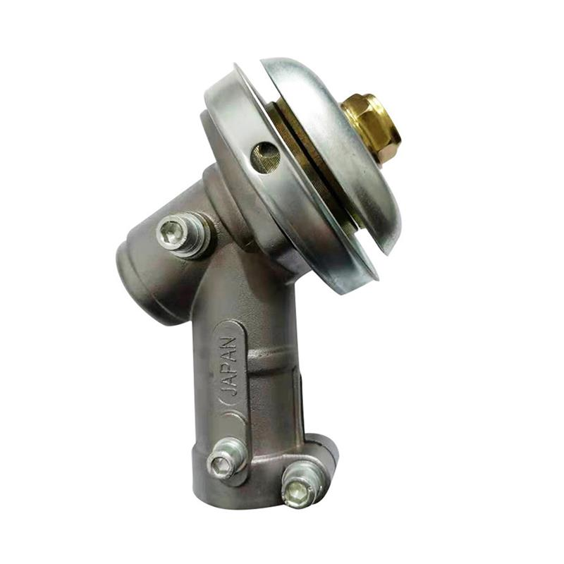 new brush cutting head steel wire grass trimmer head brushcutter gearbox gearhead lawnmover part replace adapter for garden tool 7 9 Teeth Trimmer Gearbox Gearhead 26mm 28mm Brushcutter Grass Trimmer Replace Gear Head Lawn Mower Parts Garden Power Tools