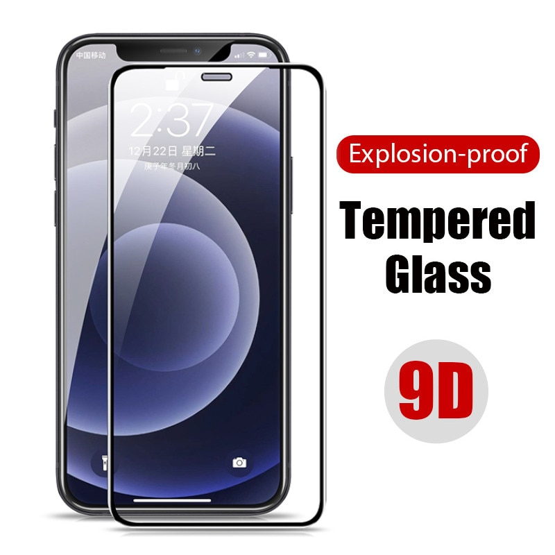 Full Cover Protective Glass IPhone 12 Mini 11 Pro Max X XS XR 5S 5 S 6 6S 7 8 Plus Screen Protector