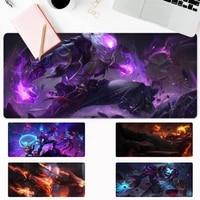 art lol brand gaming mouse pad gaming mousepad large big mouse mat desktop mat computer mouse pad for overwatch