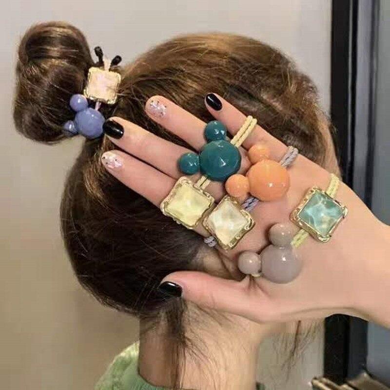2020 Mickey cheveux accessoires chaîne élastique bon Stretch mignon mode Style étudiant bandeau pour filles charme chapeaux