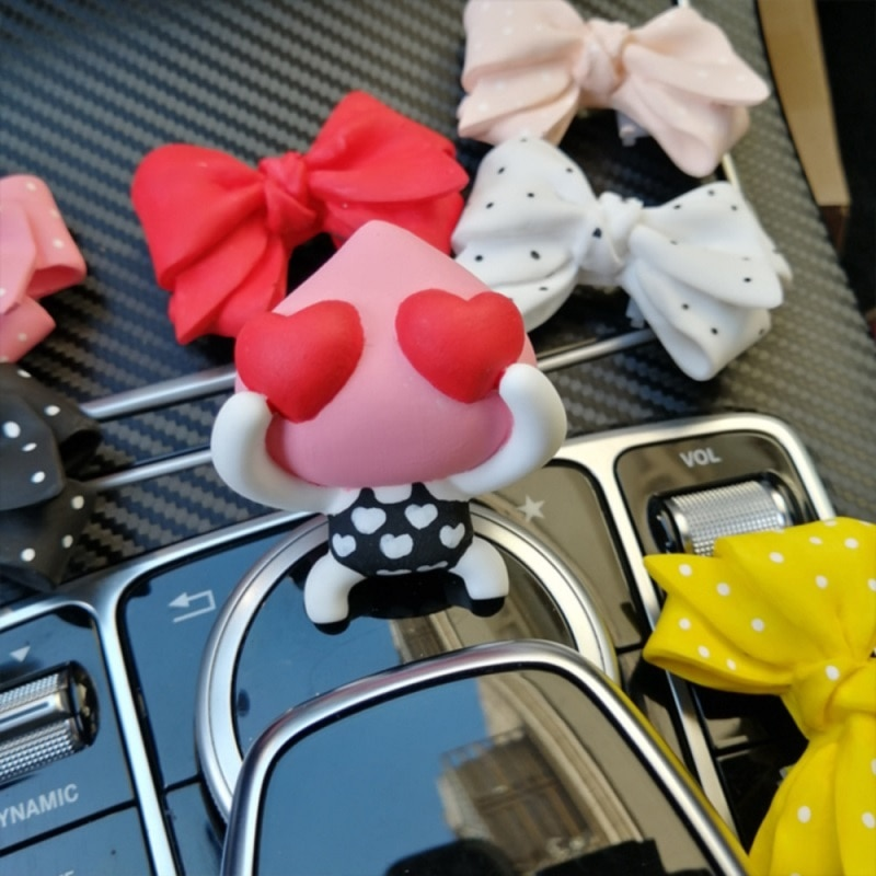 Car perfume cute creative cartoon Pitaojun car decoration car air outlet decoration car car decoration supplies