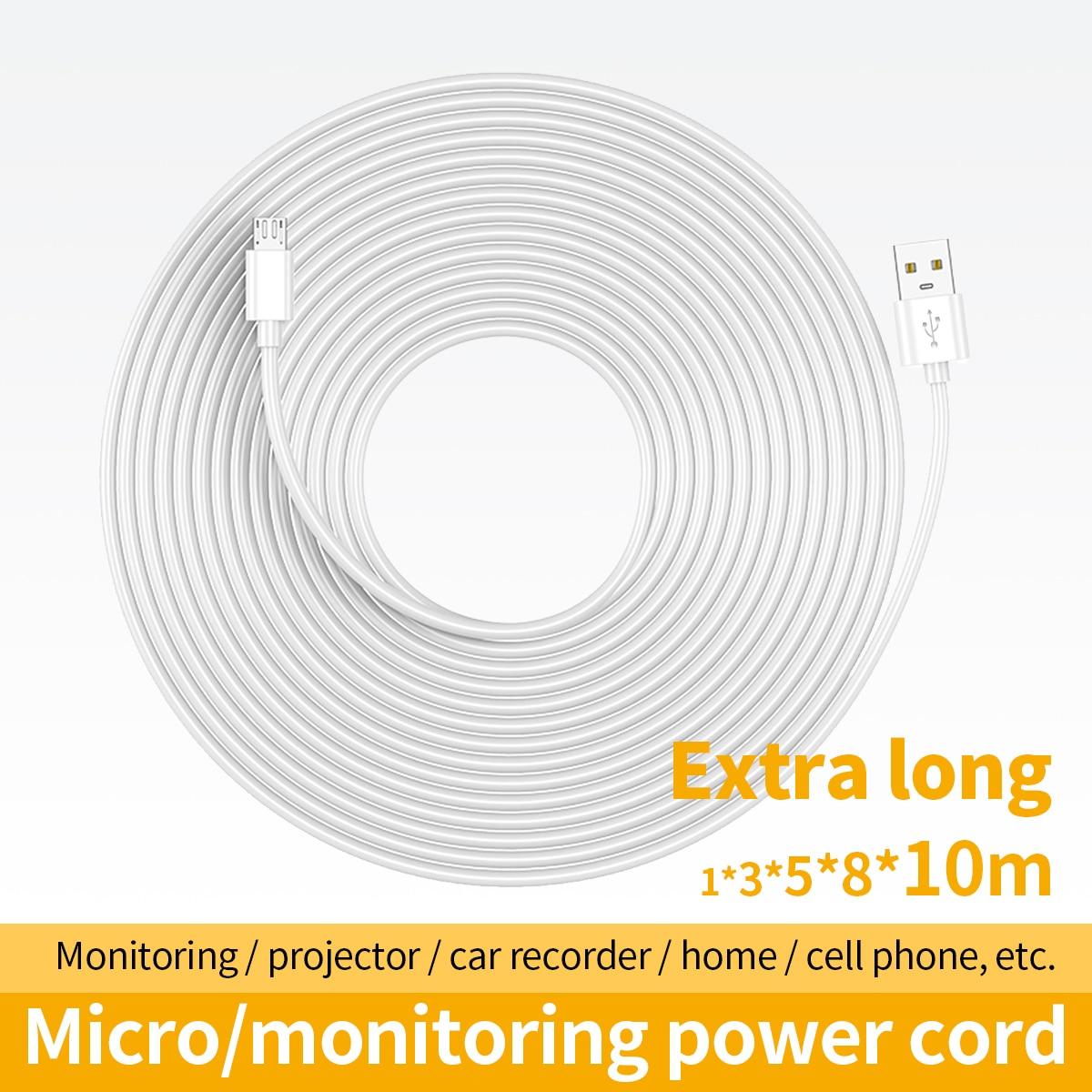 5m 10m se Micro Cable USB para Cable de alimentación del teléfono...