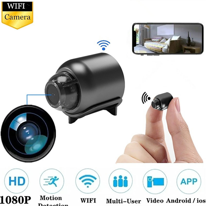HD 1080P Wifi Mini Camera Smart Home Stream Security Camera With Audio Video Recording Night Vision