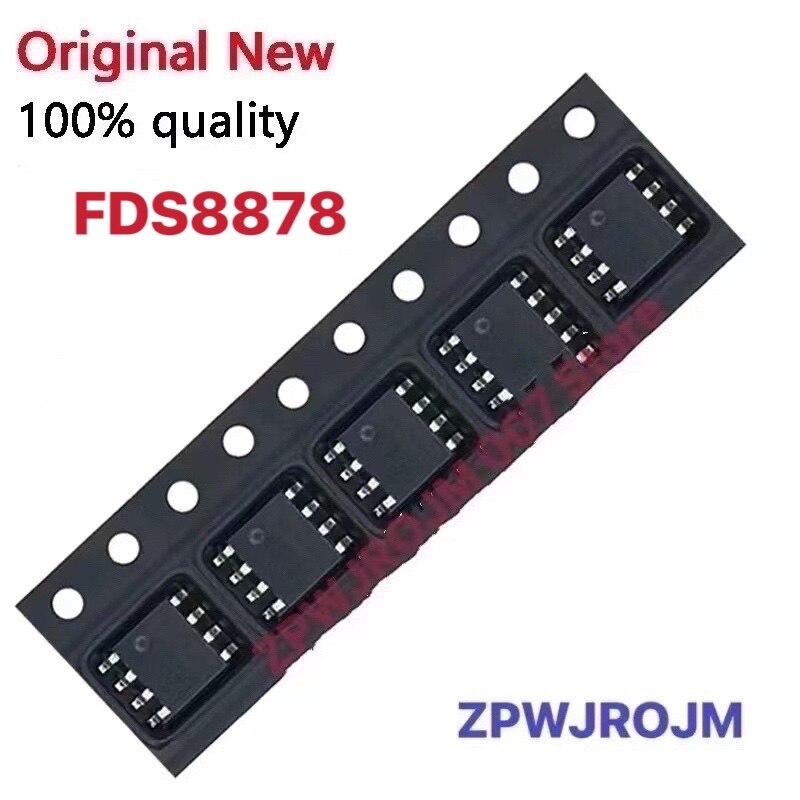 10pcs/lot FDS8878 8878 MOSFET SOP-8