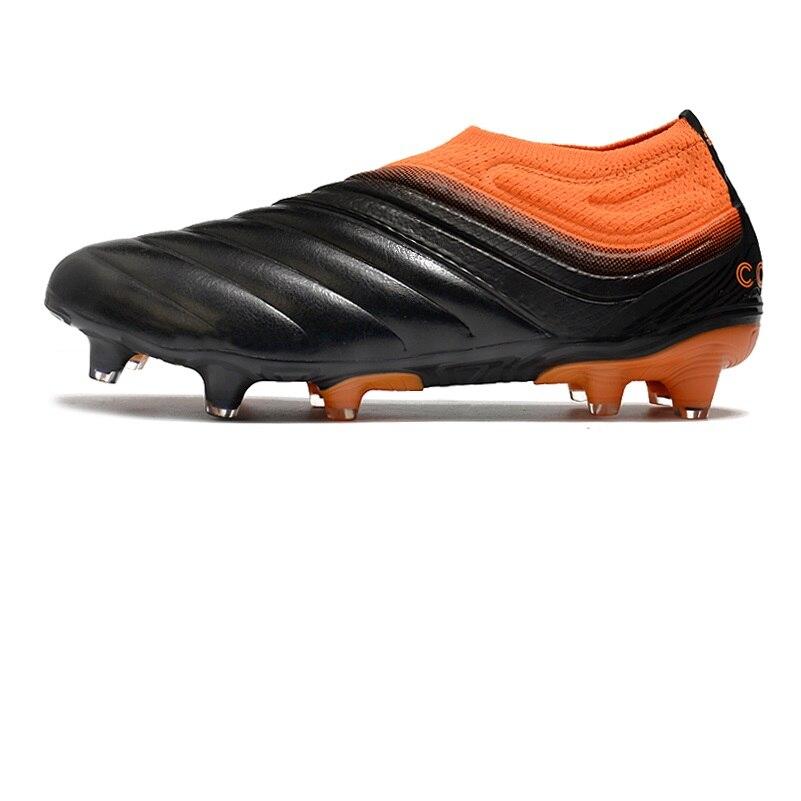 Оптовая продажа и Прямая поставка Copa 20 + FG кожаные футбольные бутсы Мужская футбольная обувь Обувь для футбола      АлиЭкспресс