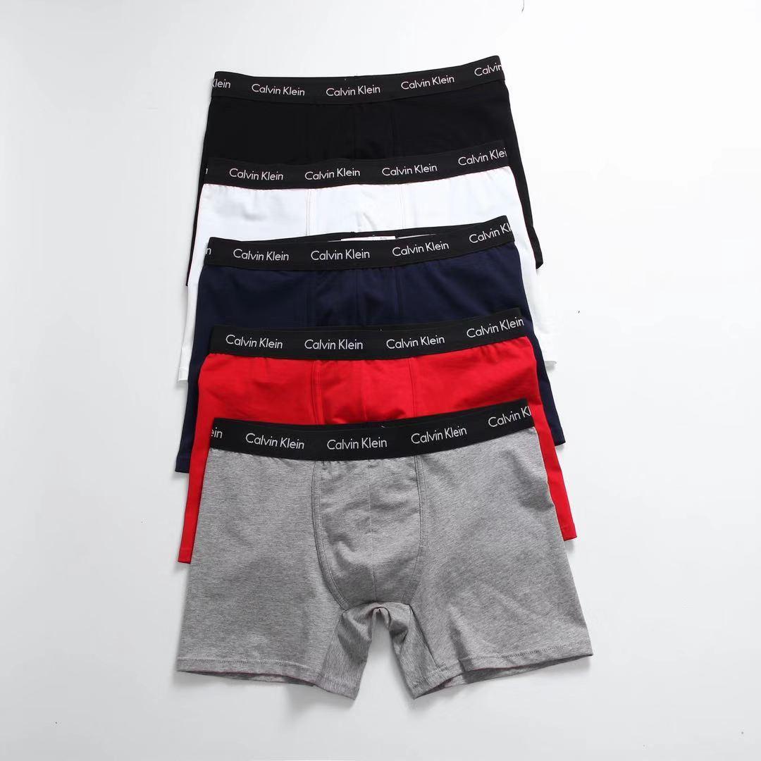 Calvin Klein Men's Boxer 100% Cotton Shorts Underpants man Men's Panties Men Boxer Underwear 3 pice