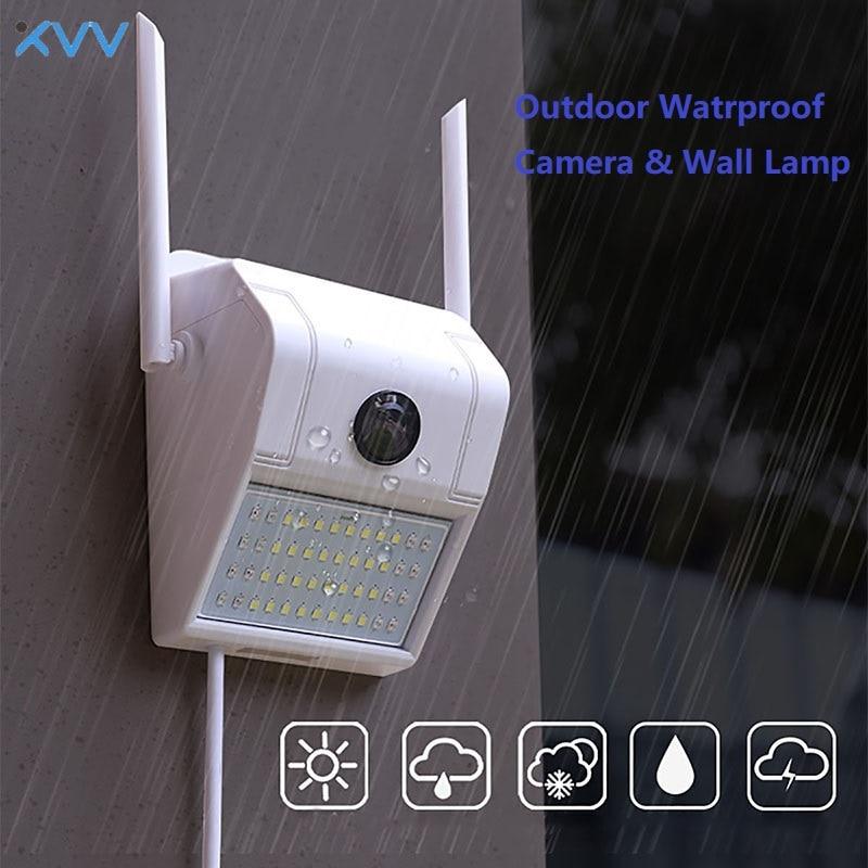 XiaoVV D6 Home Security Kamera 1080P IP Wand Lampe Cam Nachtsicht Motion Erkennen 160-grad Breite-winkel Smart Induktion