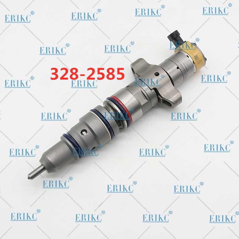 Inyector de combustible ERIKC 3282585 Common Rail 328-2585 inyector de combustible Diesel para bomba de inyector de piezas de bomba de inyección CAT C7