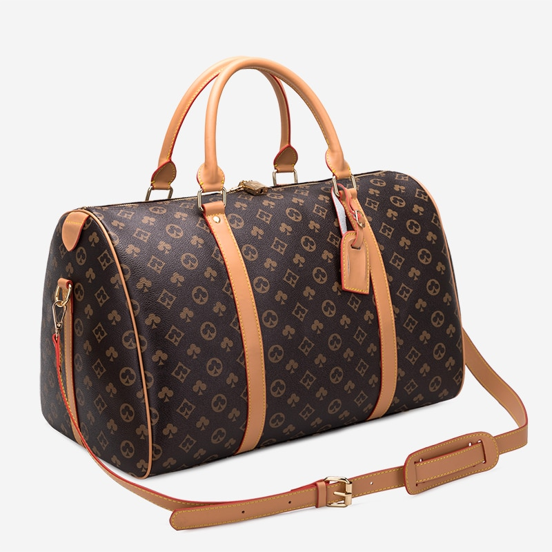 Luxury Men Travel Bags vintage Totes for women Large Capacity Fashion suitcases Handbags Hand Luggage Duffle