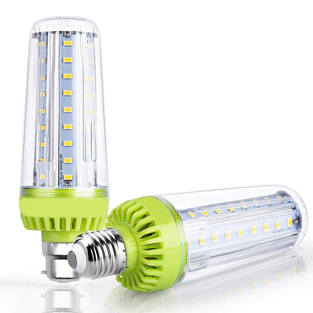 1-6 uds. Bombilla de bombilla LED tipo mazorca E26 E27 B22 Chips LED Epistar súper brillantes de alta calidad AC85-265V equivalente a 20W 200W para garaje de casa