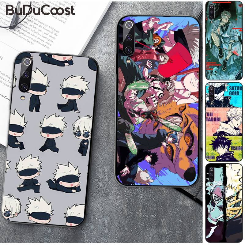 Jujutsu Kaisen Popular anime Phone Case for Xiaomi Mi9 9SE 8SE Pocophone F1 Mi8 Lite