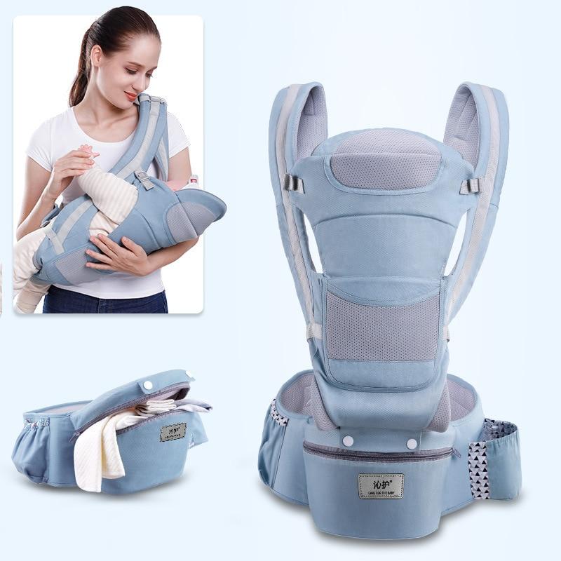 0-48M ergonómico bebé infantil del abrigo de la compañía frontal ergonómico canguro abrigo del portador de bebé viaje 2019