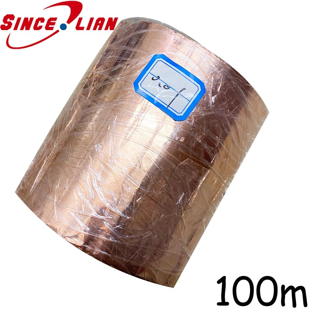 folha de cobre pura do rolo fino da folha de metal da folha do cu da espessura 100
