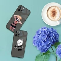 my hero academia deku bakugou boku phone case for iphone 12 11 8 7 se 2020 pro x xs xr max plus black transparent cover