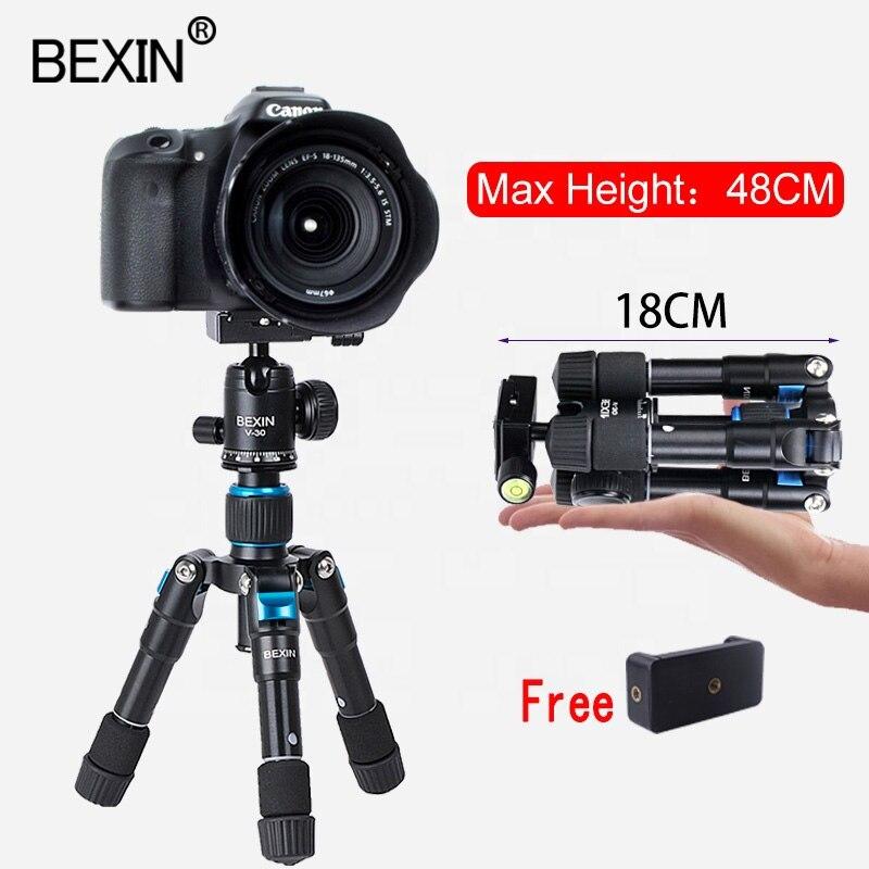 BEXIN-حامل ثلاثي القوائم صغير مرن وصغير للهواتف الذكية ، وحامل طاولة للصور ، وحامل كاميرا لأجهزة iPhone