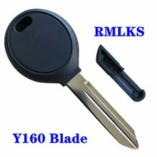 Замена чипа транспондера Fob Uncut Y160 лезвие дистанционного ключа для Dodge Chrysler Ключи от джипа автомобиля оболочки с чипом ID46 4D64