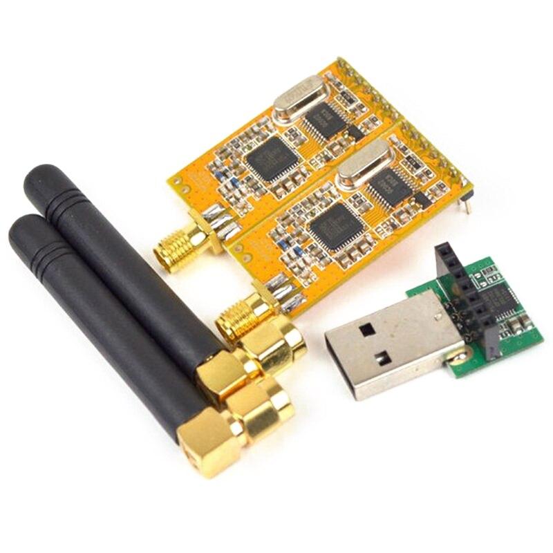 ¡Producto en oferta! Módulos de datos seriales inalámbricos TTKK APC220 con antenas convertidor USB Módulo adaptador Kit para Arduino 3,3 V-5V