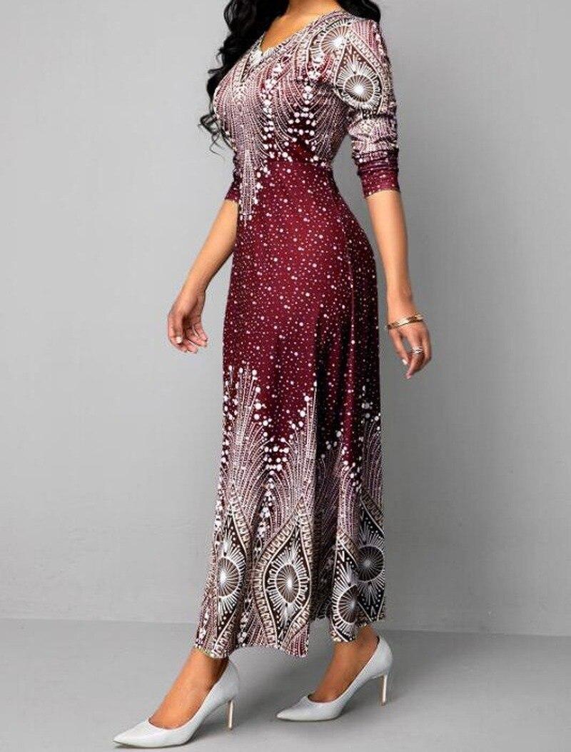 Maxivestido africano de talla grande, 4XL, 5XL, mujer, 2020, ropa africana, vestido Dashiki estampado, ropa de mujer Ankara