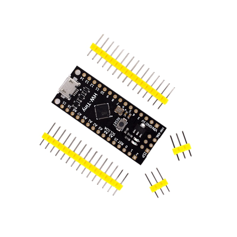 Placa de microdesarrollo mh-tiny ATTINY88 de 16Mhz /Digispark ATTINY85 mejorada/NANO V3.0 ATmega328 Compatible con Arduino