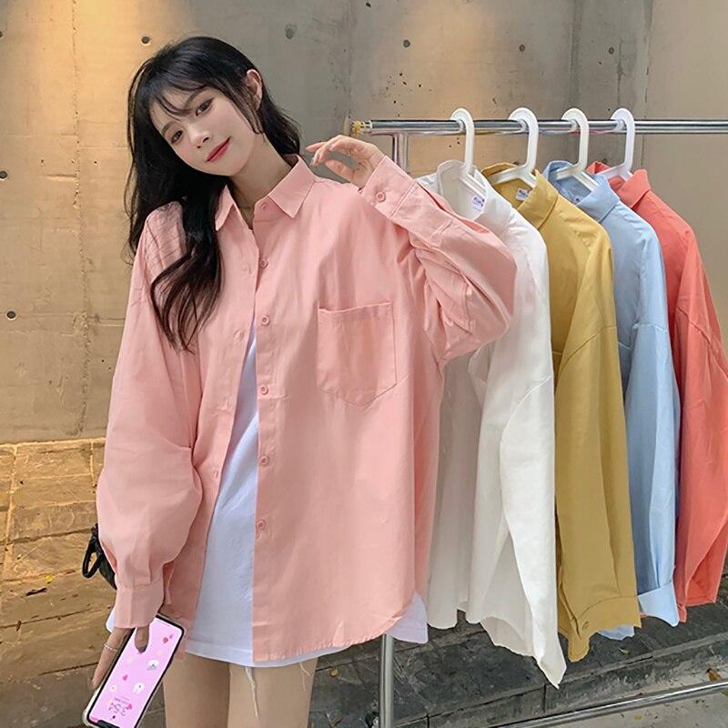 Long Sleeve Shirt Coat Women's Design Sense Minority Spring And Autumn 2021 New Korean And Versatile