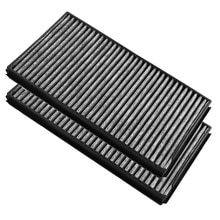 2 pcs New Cabin Air Filter Set Capture dust pollen molds fumes and odors For BMW E60 528i 535i 535xi 545i 550i 650i M5 M6