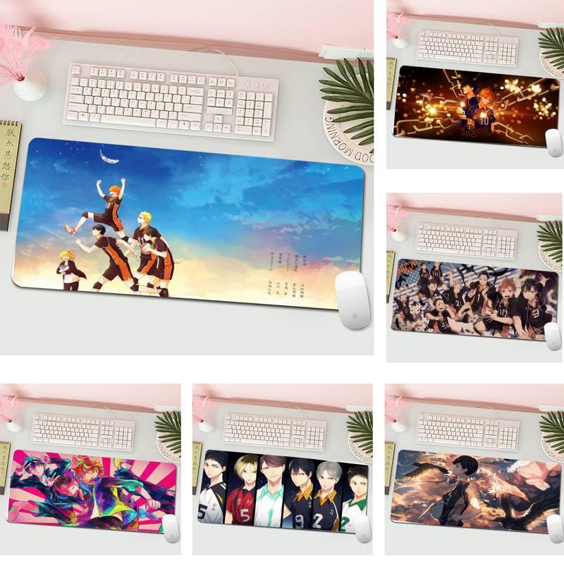Игровые коврики Haikyuu Akaashi, коврик для мыши, большой игровой коврик для клавиатуры и ПК, Настольный коврик для компьютера, планшета, игровой ко...