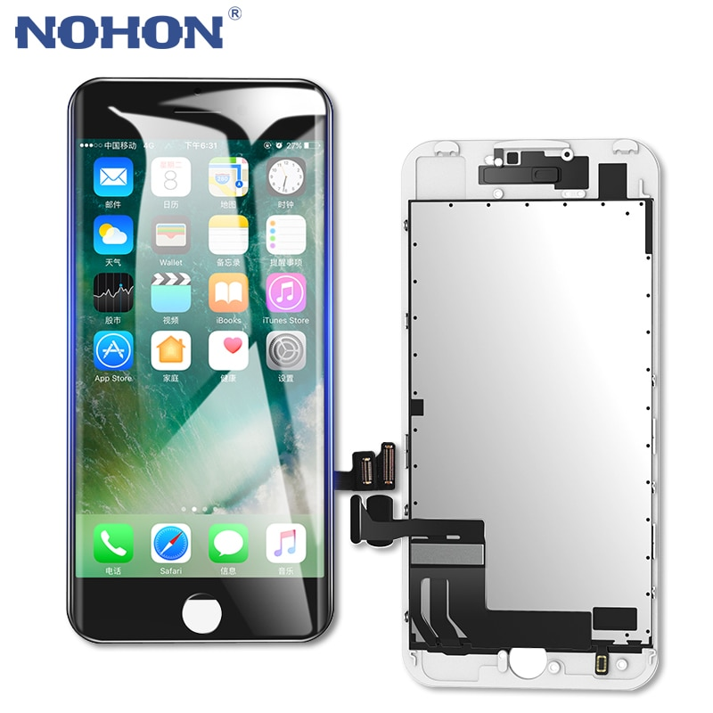 NOHON HD LCD Display Screen AAAA for iPhone 6 6S 7 Replacement 3D Touch Digitizer Assembly Mobile Ph