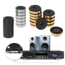 12 pièces/ensemble nouveaux haut-parleurs détagère amortissement dabsorption des chocs pour haut-parleurs stéréo Audio amplificateur pieds Pad