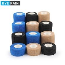 1Pcs Self Adhesive Elastic Bandage Wrap Tape Waterproof Bandage for Knee Ankle Sprains & Swelling, W