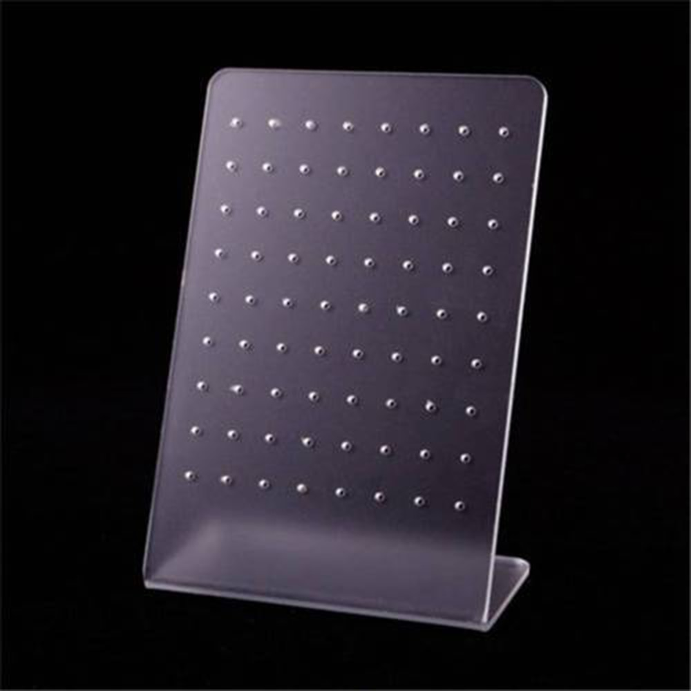 72 Holes Earring Jewelry Display Holder Rack Stand Showcase Organizer Shelf Mould Multi-layer Stud E