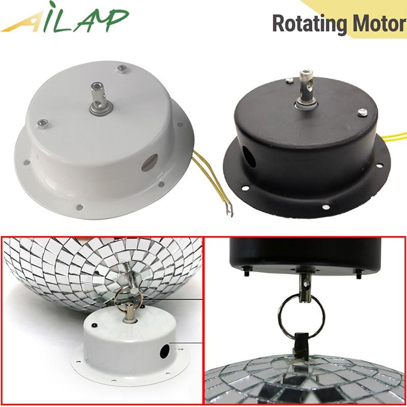 AC110V AC240V glass ball rotating motor disco 1.5RPM 2.5RPM Rotating speed Ceiling stage light bar ktv dj