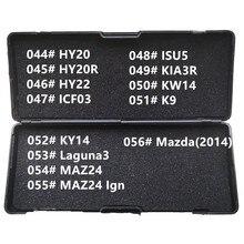 44-56 LiShi 2 in 1 HY20 HY20R HY22 ICF03 ISU5 KIA3R KW14 K9 KY14 LAGUNA3 MAZ24 for Mazda(2014) Locksmith Tools For All Types