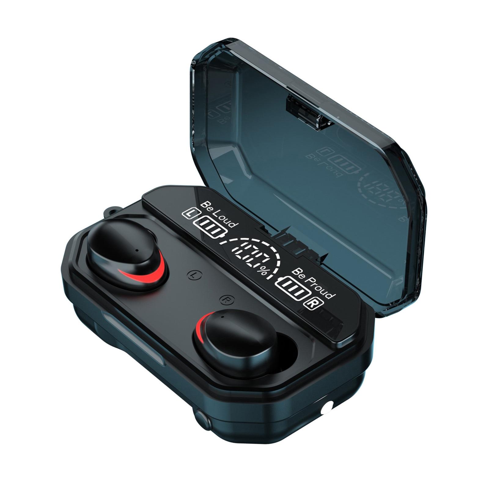 Fone de ouvido bluetooth 5.1 a17, estéreo, sem fio, pequeno, para apple, xiaomi, huawei, samsung, xaomi