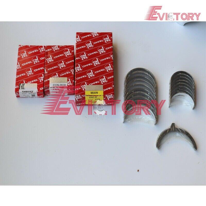 Pour NISSAN chariot élévateur K25 K21 kit de reconstruction anneau de piston + joint + jeu de roulements