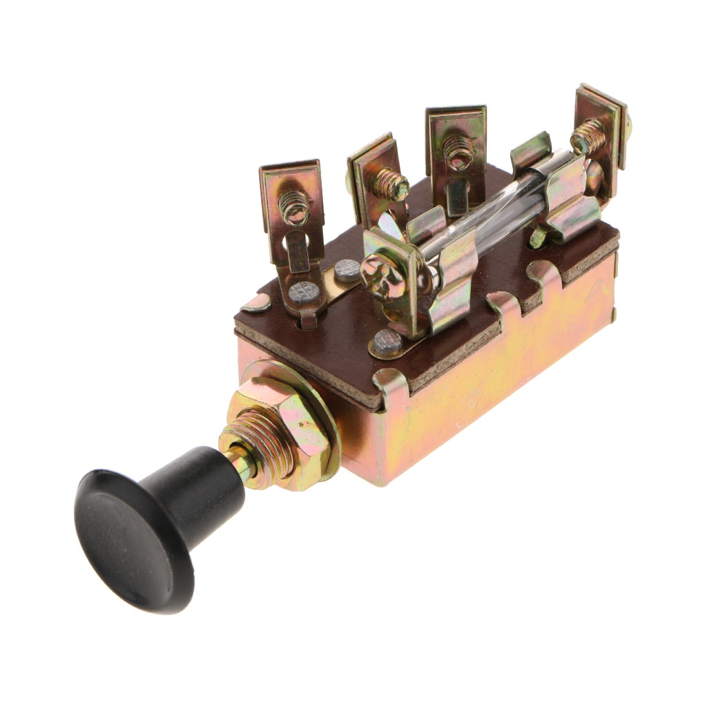 Interruptor de encendido de 2 posiciones, bloqueo de encendido/apagado para bote de coche agrícola modificado