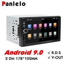 Panlelo 2 Din Android Auto Radio 7 Zoll Auto Stereo Audio 1080P mit Bluetooth Wifi FM AM Radio Video player GPS Navigation