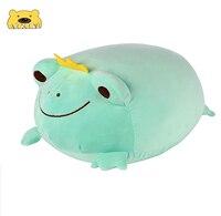 Милая плюшевая лягушка-лягушка, лягушка, мягкие игрушки-животные, набивная Подушка, мягкие обнимающие игрушки, плюшевый подарок для милых л...