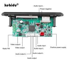 1280x720 5V 12V Module MP3 WMA MP5 décodeur carte 2 canaux sortie sans fil bluetooth 5.0 Support de Module Audio e-book USB TF Radio