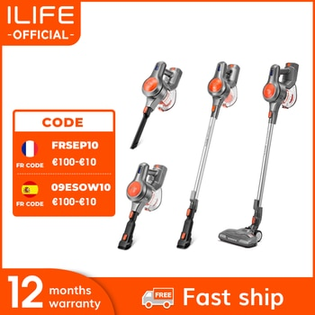 EASINE by ILIFE H70 Cordless Wireless Handheld Vacuum, 21KPa Suction Power, 40Mins Runtimes, Removable Battery, 1.2L Dust Cup