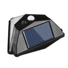 Waterproof 38 LED Solar Landscape Courtyard Wall Street Light Outdoor Motion Sensor Garden Lamp &T8