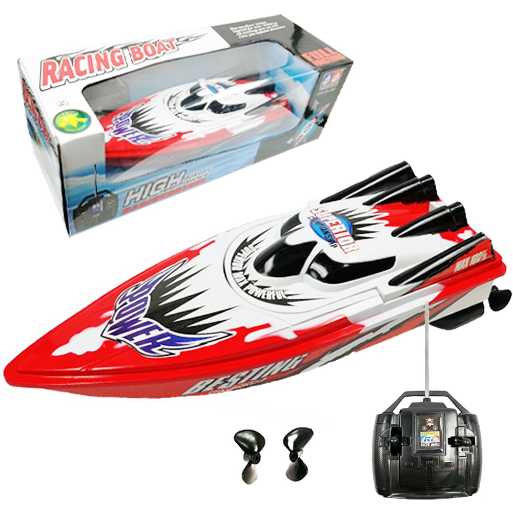 RC Boat Innovative High Speed 4 Channel Racing Remote Control Boat For Kids Adults