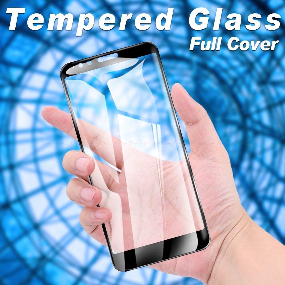 Completa de la cubierta de vidrio templado Protector de pantalla para Motorola Moto E6s E6 E5 E4 más Z4 Z3 Z2 fuerza jugar protección película de vidrio