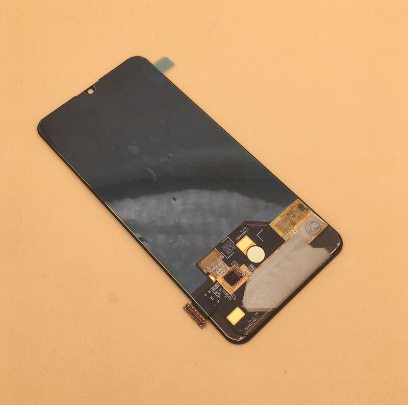 Preto original para lenovo z6 pro lcd l78051 l78121 display lcd tela de toque digitador assembléia peças reposição