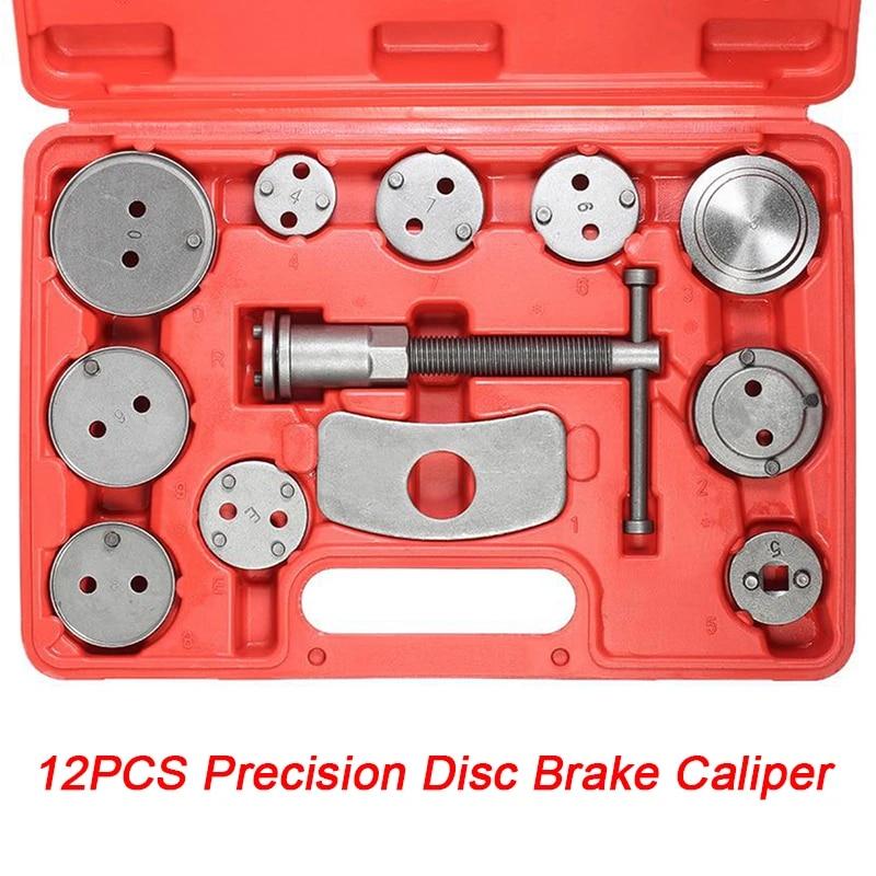 12pcs Universal Car Auto Precision Disc Brake Caliper Wind Back Tool Kit Brake Pad Brake Pump Brake Piston Car Repair Tool Kit Aliexpress