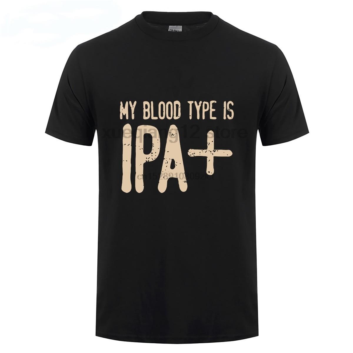 Meu tipo de sangue é ipa men t shirt (1)