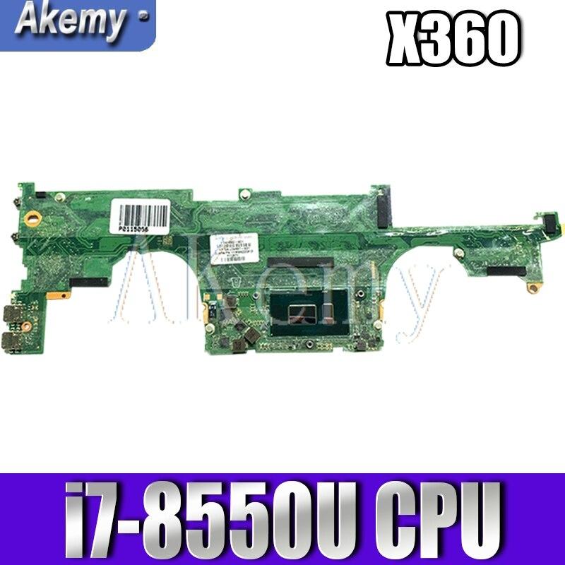 بلاكا اللوحة 941884-001 لإتش بي شبح X360 13-AE 13-AE0 13-AE012DX محمول i7-8550U DA0X33MBAF0 941884-601 اختبارها بشكل كامل