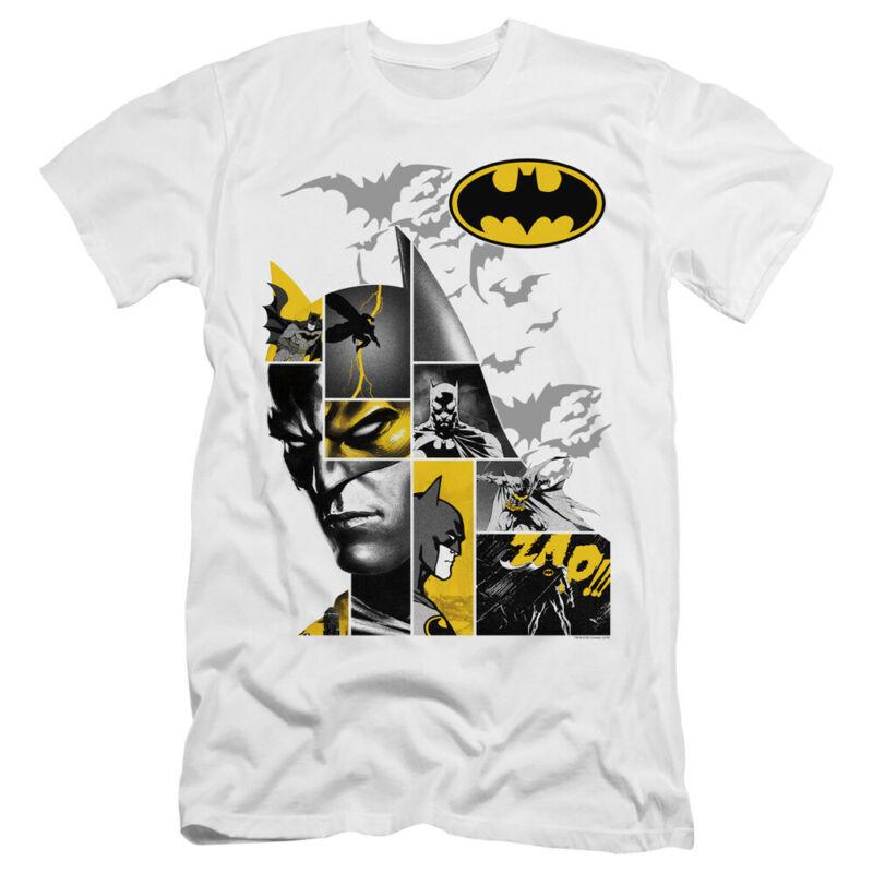 Batman Slim Fit camiseta Collage blanco Tee